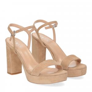 Il Laccio sandalo 2846 camoscio beige