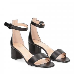 Il Laccio sandalo 669 pelle nero