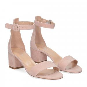 Il Laccio sandalo 669 camoscio rosa