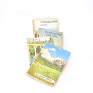 Libri Touring Vintage Anni'53-'54-'55 4volumi