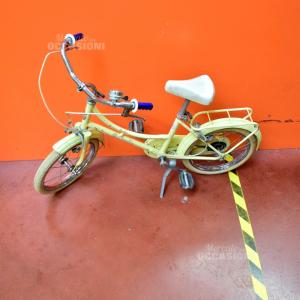 Bici Vintage Barby Bottecchia Giallino Pallido