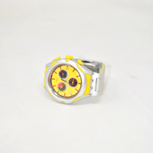 Orologio Swatch Quadrante Giallo