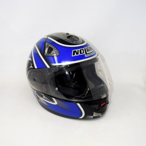 Helmet Motorcycle Nolan Blue Black