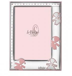 LeBebé Cornice Linea Amore -Rosa, piccola 9x13