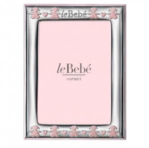 LeBebé Cornice Linea Classica - Rosa, piccola 9x13