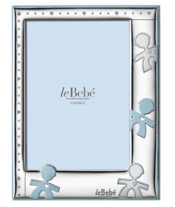 LeBebé Cornice Linea Amore - Celeste, piccola 9x13