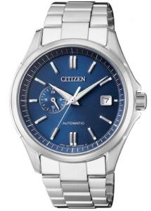 Citizen Meccanico automatico cassa acciaio quadrante Blu