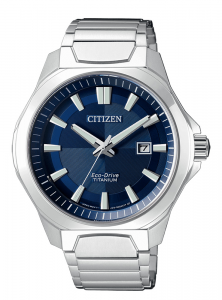 Citizen uomo supertitanio 1540 Quadrante blu