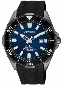 Citizen Diver's Supertitanio - Quadrante blu, cassa DLC nero Supertitanio