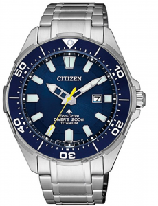Citizen Diver's Supertitanio - Quadrante blu, cassa e bracciale Supertitanio