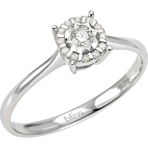 Bliss Anello Oro Sorprendila - Diamante ct. 0,11