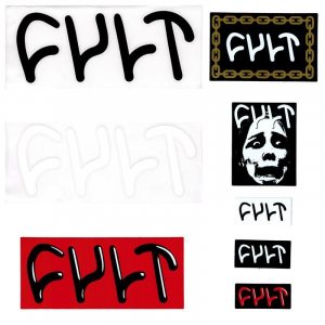 Cult Sticker Set