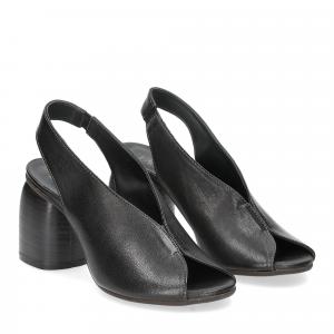 Il Laccio sandalo 4800 pelle nero