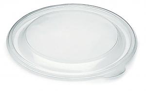Coperchi trasparenti in RPET per insalatiere BROWN 1400ml