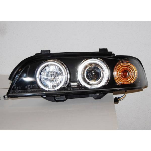 Fari Angel Eyes BMW E39 '95-03 Black