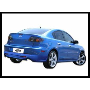 Spoiler Posteriore Mazda 3 4P.