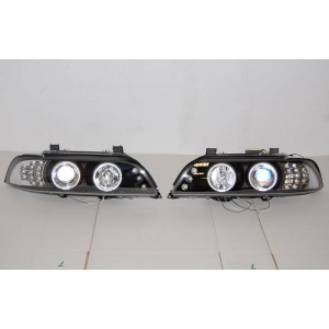 Fanali Day Light BMW E39 95-03 Black Int.Led