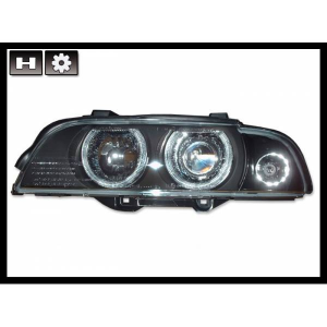 Fanali Anteriori Day Light BMW E39 95-03 Black Xenon