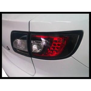 Fanali Posteriori Mazda 3 '03-'08 4P Black Led