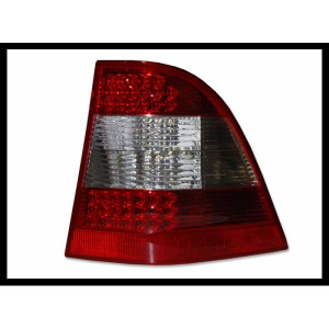 Fanali Posteriori Mercedes W163 '02-'04 Ml, Red, Led