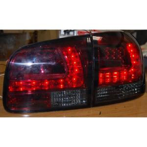 Fanali Posteriori Volkswagen Touareg 03 Led Red Smoked