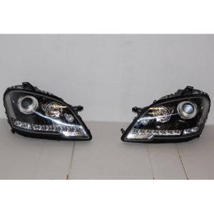 Fanali Mercedes W164 08-11 Daylight Black