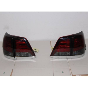 Fanali Posteriori Led Toyota Cruiser Fj200 08 Red Smoked