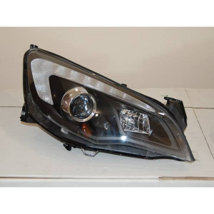 Fanali Day Light Opel Astra J DRL Nero
