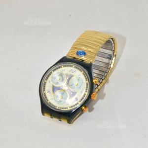 Orologio Swatch Dorato Verde (DA PROVARE)