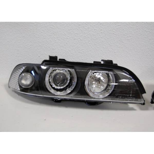 Fanali Anteriori Day Light BMW E39 95-03 Black