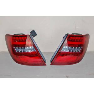 Fanali Posteriori Cardna Mercedes W204 2011-2014 Led Red Clear