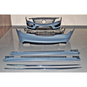 Kit COMPLETI Mercedes W117 13-16 4P / SW Look AMG