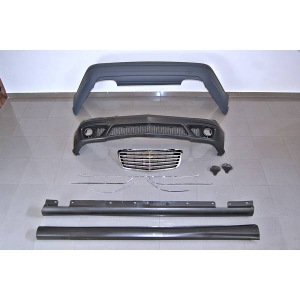 Kit COMPLETI Mercedes W211?07-09 Look AMG E63 ABS Grille