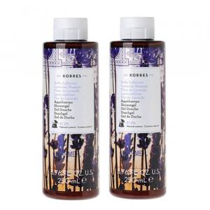 Korres Shower Gel Lavender Blossom 2x250ml