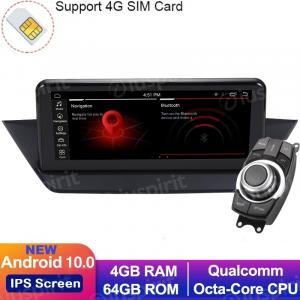 ANDROID 10 navigatore per  BMW X1 E84 2009-2015 senza schermo originale, 10.25 pollici WI-FI GPS 4G LTE Bluetooth MirrorLink 4GB RAM 64GB ROM