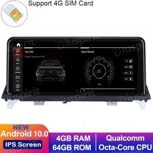 ANDROID 10 navigatore per BMW X5 F15 2014-2017 Sistema originale NTB 10.25 pollici WI-FI GPS 4G LTE Bluetooth MirrorLink 4GB RAM 64GB ROM