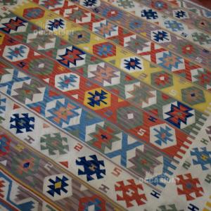 Tappeto In Cotone 203*213 Colorato