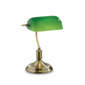 IDEAL LUX LAMPADA DA TAVOLO VERDE LAWYER TL1