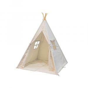 Tenda degli indiani Teepee Sunny Alba Bianco Crema