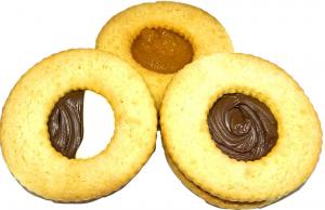 Biscotto Occhi di bue, confezione da 200 gr