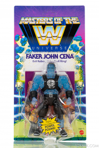 Masters of the WWE Universe: FAKER JOHN CINA by Mattel
