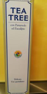 TEA TREE CON PANTENOLO ED EUCALIPTO  SHAMPOO DOCCIA
