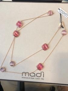 Collana Madì- argento 925% rosè