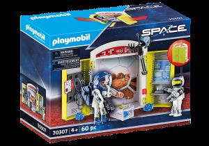 PLAYMOBIL  PLAYBOX STAZIONE SPAZIALE 70307