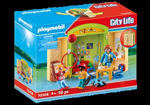 PLAYMOBIL  PLAYBOX ASILO 70308