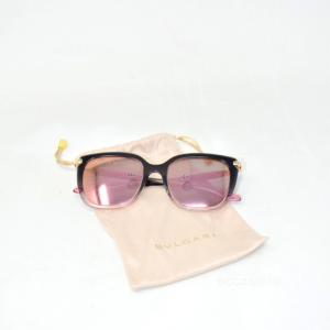 Occhiale da sole Sunglasses Bvlgari 6089 colore 20134z Matte Pink Gold