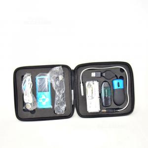 Mp3 Azzurro Con Vari Accessori