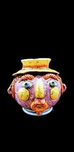 Spaventapasseri  Colorato Ceramiche di Caltagirone