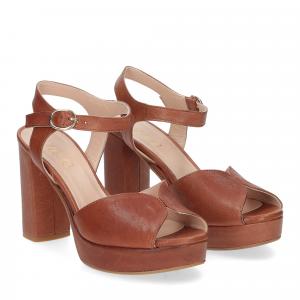 Il Laccio sandalo 9406 pelle cuoio