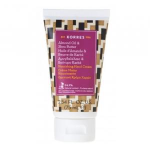 Korres Almond Oil And Shea Butter Nourishing Hand Cream 75ml